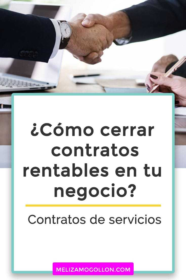 Contratos de de servicios