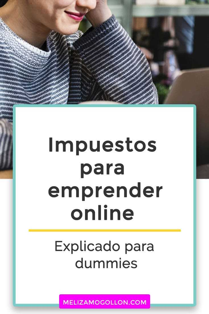 IMPUESTOS para emprender online