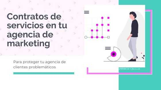 Contratos de servicios para agencias de marketing